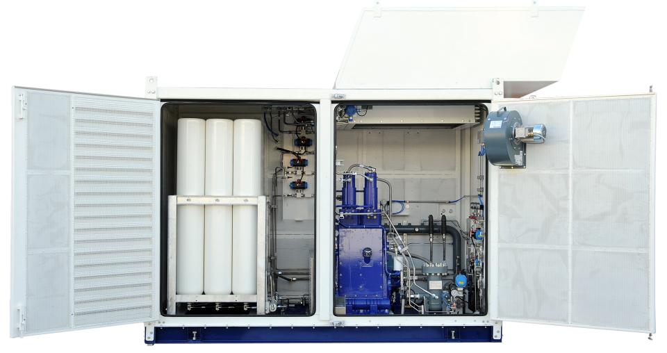 Compressors In Pipeline Area Nsys Ltd