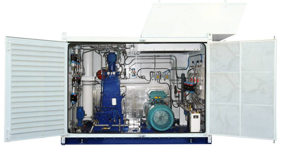 Compressors In An Area Without Gas Pipeline Nsys Ltd